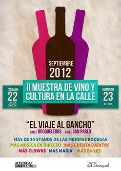 II Muestra de Vino y Cultura en las calles del Gancho