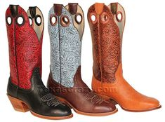 Cowgirls are soft but tough, just like these womens custom baby bullhide cowboy boots from Hondo Boots. Recognized for their durability, ladies baby bull western boots, item # 2912 are constructed with soft, full grain cowhide lining, top grade leather insoles and outsoles, with solid steel shanks.Custom means you can pick your own features to enjoy cowboy boots just as you want for dress, play, or work using the options below. Mix and match vamps, 13 inch tops, 3 different soles, 5…