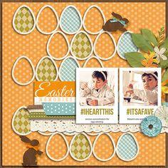 by marnel Credit:Bunny Trail by Kristin Cronin-Barrow  Bits & Bytes: 3x4 Cards – InstaLove by Nettio Designs