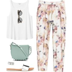 """Easy Summer Style"" by bellamarie on Polyvore"