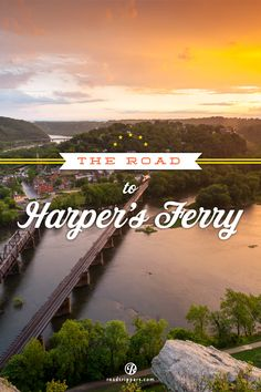 The drive from Washington DC to Harpers Ferry, WV offers up some of the most beautiful autumn landscapes in the country.