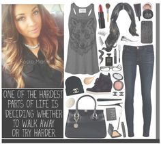"""""""3/13/13. """" by x0-rociomarie ❤ liked on Polyvore"""