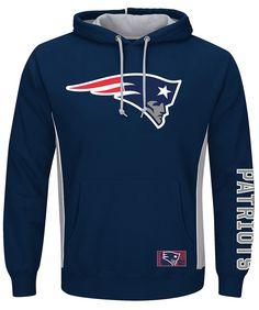 1d6b4f130 NEW ENGLAND PATRIOTS Men s Passing Game IV Pullover Hoodie - Bob s Stores  New England Patriots Sweatshirt