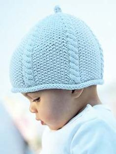 Click through for more information and resources related to Cable and Moss Stitch Hat