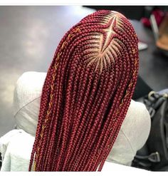Braids With Bead Embellishments - 40 Best Big Box Braids Hairstyles Box Braids Hairstyles, Latest Braided Hairstyles, Braids Wig, My Hairstyle, Twist Braids, African Hairstyles, Twists, Black Girl Braids, Braids For Black Hair
