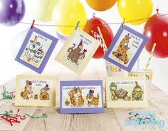 Children's Birthday Cards The World of Cross Stitching Issue 216