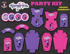 VAMPIRINA, kit de Fiesta inspirado en Vampirina, en Inglés, Descarga Inmediata, Decoración de cumpleaños Vampirina, Fiestas temáticas Drawing Projects, Party Kit, 2nd Birthday Parties, Party Themes, Party Ideas, First Birthdays, Handmade Gifts, Etsy, Editable