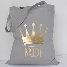 Wedding Tote Bag, Bride Tote Bag, Bride to Be Tote Bag
