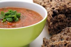 Verden Måske Bedste Tomatsuppe Low Carb Recipes, Real Food Recipes, Yummy Food, Healthy Recipes, Low Sugar, Food Inspiration, Tapas, Healthy Eating, Healthy Food