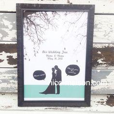 こちらは、シルエットが大人っぽい雰囲気のウェディングツリー♡ 私の作成しているウェルカムボードと合うように吹き出しや、カラーをポイントで付けました♡ぜひ、セットで合わせて頂けると嬉しいです♡ #nicomaison #tree#ウェディングツリー#結婚式#人前式#プレ花嫁#結婚準備#結婚準備中#ウェディング#weddingtree#二次会#プレゼント
