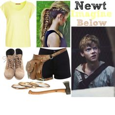 Newt Imagine for Haley in the Desc. ~Maile by maze-runner-fangirls on Polyvore featuring mode, Comptoir Des Cotonniers, Miss Selfridge, Paul Brodie and kitchen