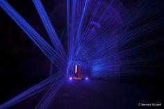 Fleuve Céleste - Julien Salaud a créé spécifiquement pour les caves Ackerman, une oeuvre originale et contemporaine.
