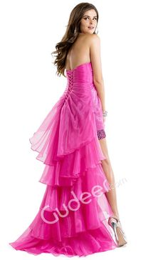 Sheath Sequin Mini Prom Dress with Organza High-low Overlay