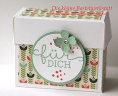 Stampin up Verpackung Goodies Schachtel Mitbringsel