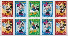 Disney Cartoons on Postage Stamps, Stamp News Publishing
