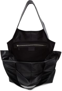 Givenchy - Black Leather Tote Bag 1100 EUR. Top view.