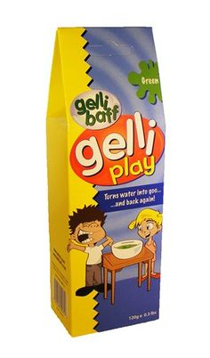 Gelli Play Table Top Gelli Baff Goo (Green): Amazon.co.uk: Toys & Games