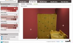 This room in actually beige but I virtually painted it Red with the Olympic Paint Your Room Tool! Check it out! Olympic Paint, Home Improvement Projects, Primary Colors, Olympics, Locker Storage, Sweet Home, Walls, Beige, Diys