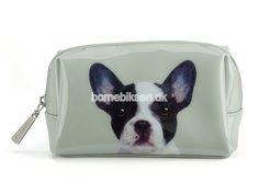 Køb lille Catseye toilettaske, grøn hund her - til en skarp pris
