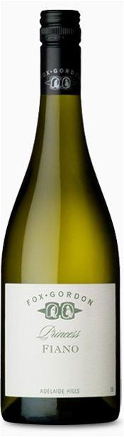 Fiano wine from Fox Gordon in the Barossa valley in South Australia. Foox Gordon also makes Tempranillo