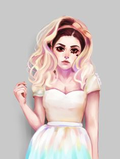 marina and the diamonds art tumblr - Google Search