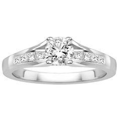 Fred Meyer Jewelers   1 ct. tw. Canadian Diamond Engagement Ring