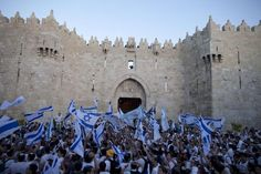 The case for Israel is rooted in more than security - - June 7, 2015 - - Israelis danced with flags during a march marking Jerusalem Day last month outside the Old City.