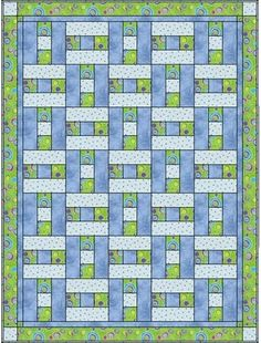 ~ Picture for inspiration....I think this would make a good donation quilt.
