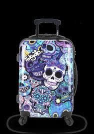 Image result for day of the dead luggage