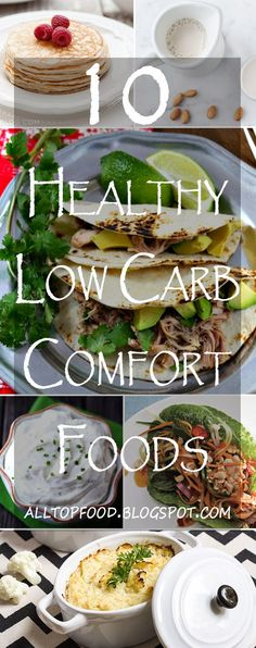 10 Healthy Low Carb Comfort Foods | All Top Food