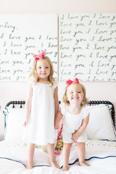 A Perfectly Sweet Little Girl's Room | Kendall Simmons