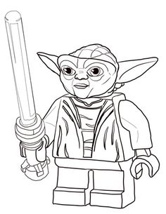 Lego Star Wars Coloring Pages