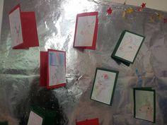 Beeldende vorming: Maak zelf kerstkaarten! :)
