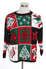 Collage ugly Christmas sweater from TheSweaterStore.com