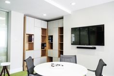 Office Fit Out - Meeting Room - Interface Urbn Retreat Carpet - Herman Miller Satu Chair - Prothena Bioscience, Dun Laoghaire, Co. Dublin, by Think Contemporary