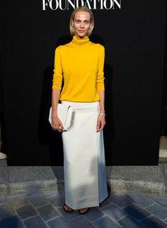 Aymeline Valade en Hermès