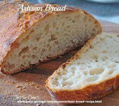 German-style artisan bread