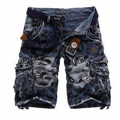 Mens Trendy Summer Cargo Shorts