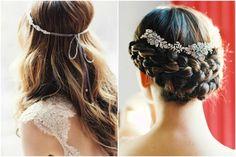Le nuove tendenze 2015 per le acconciature da sposa: corone, trecce, fiori... in una parola: libertà!