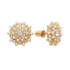LC Lauren Conrad Starburst Stud Earrings  $14, Kohl's