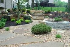 rock landscaping under trees - Yahoo Image Search Results