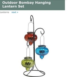 Lanterns outdoor