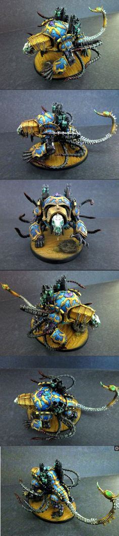 40k - Thousand Sons Maulerfiend by Rickfactor