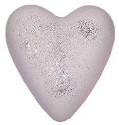 GLITTER MUSK BATH HEART - WITH GLITTER. Megafizz Bath Hearts are fragrant bath additions. Drop one into your bath and watch it fizz and bubble and add fragrance (and sometimes flowers or glitter) to your bath. Only £1.99