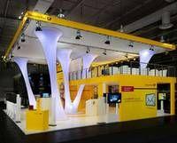 Messebau Cebit 2011 in Hannover für die Post AG - Zenit