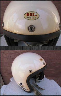 Bell Classic Helmet Nostalgia on Wheels Classic Motorcycle Helmet, Custom Motorcycle Helmets, Custom Helmets, Racing Helmets, Motorcycle Outfit, Retro Helmet, Vintage Helmet, Youth Dirt Bikes, Bell Helmet