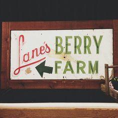 family farm sign