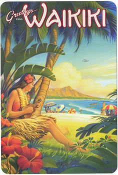 Vintage Hawaiian Postcards