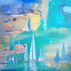 Sailboat Memory Sailboat, Framed Art, Memories, Canvas, Artist, Dan, Painting, Design, Sailing Boat