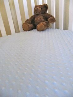 Minky Fitted Crib Sheet Tutorial, gift sewing